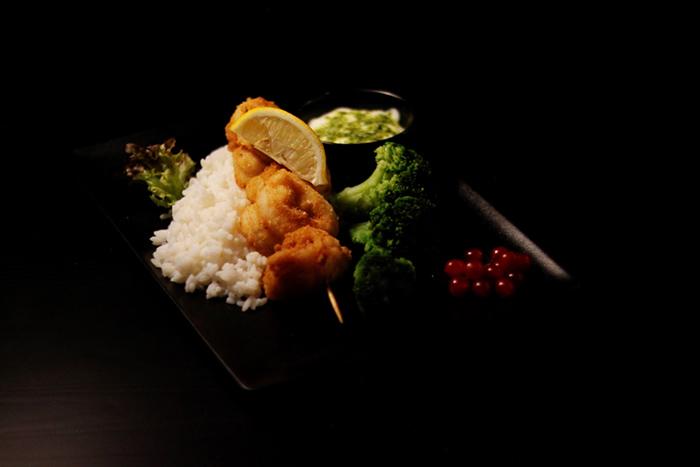 Pangasijos filė su su špinatų padažu